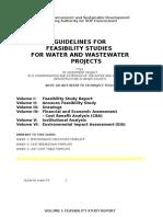 Ghid Pentru Intocmirea Studiului Fezabilitate Pentru Proiectele Apa Apa UzataFinal