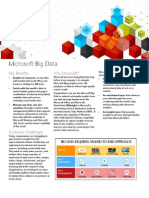 Microsoft Big Data Datasheet