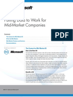 Putting Data to Work for Mid Market Companies White Paper