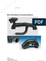 Blow moulding