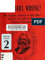 Rubinow - Was Marx Wrong - The Economic Theories of Karl Marx Tested in the Light of Modern Industrial Development