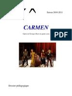 Dossier pédagogique sur Carmen de Bizet