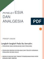Bedah Buku Anastesi & Analgesia pada Obstetrik