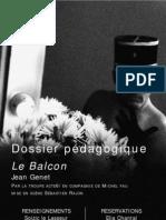 Dossier pédagogique Le Balcon
