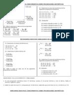 Ficha Aplicacion Progresiones Aritmeticas