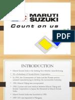Maruti Final PPT