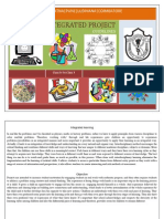 Integrated Project Guidelines 2012 -13class IV -x(Students) - Copy
