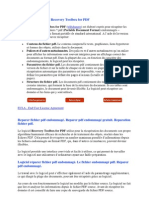 Description Du Logiciel Recovery Toolbox for PDF