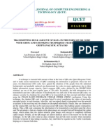 Transmitting Bulk Amount of Data in the Form of Qr Code With Cbfsc and Chunki