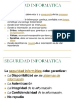 Seguridad Informática Introducción