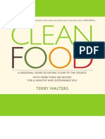 Clean Food - the Healthy Cook Book!