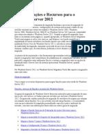 Migrar Funções e Recursos para o Windows Server 2012