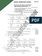 Maths 2 Model Question Paper