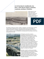 Puente De Hierro entre Sevilla y San Juan de Aznalfarache