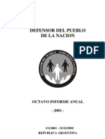 Defensor.gov.Ar - Informe 2001