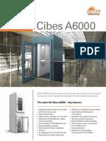 Cibes a6000 New Model