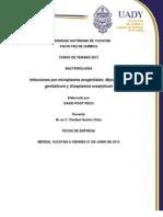 Monografía de Mycoplama y Ureoplasma