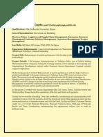 Sample E-Profile Revised
