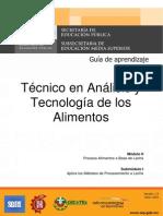 Analisis y Tecnologia de Los Alimentos m2s1