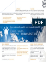 EU Research & InnovationProposal Development 2014-2020