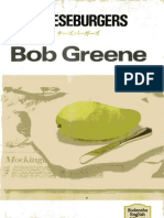 Bob Greene - Cheesburgers