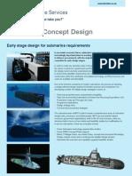 BMTDSL Submarine Concept Design Datasheet
