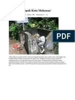 Masalah Sampah Kota Makassar