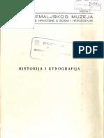 Glasnik Zemaljskog Muzeja Svezak 1 - Historija i Etnografija 1940
