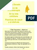 Alamo Dorado Libro de Aromaterapia en la vida práctica