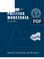 Informe Politica Monetaria-2013.BCB