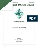 Pre Labs Digital Logic Design