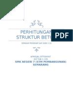 Perhitungan Struktur Beton