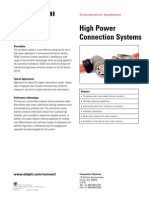 Delphi High Power Connection Systems