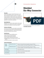 DelphiShieldedSix-WayConnector