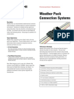 Weather Pack Data Sheet