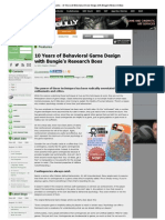 Gamasutra - 10 Years of Behavioral Game Design With Bungie's Research Boss2