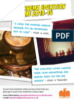 Phoenix Cinema Education Programmes 2013/14
