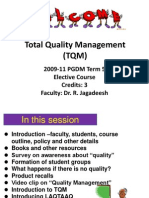 Session 1 TQM Overview