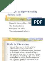 Reading Fluency Strategies yes