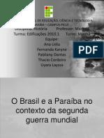 o brasil e a paraíba no contexto da segunda guerra mundial(1)