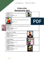 CATALOGO colección Amazonía Art