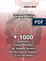 +1000Questoes - LEI 8.112.90