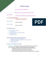 6th Database Design