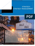 STRATEGY MANAGEMENT AT TATA STEEL