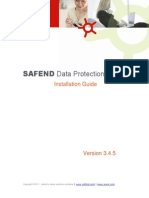Safend Data Protection Suite 3.4.5 Installation Guide