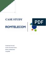 Studiu de Caz Romtelecom - Management Strategic