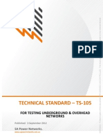 Ts105 Test Standard Uground Cable Networks