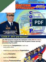 CODE P Briefing