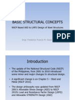Basic Structural Concepts (NSCP Based ASD to LRFD Design of Steel Structures)