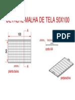 Detalhe Malha de Tela